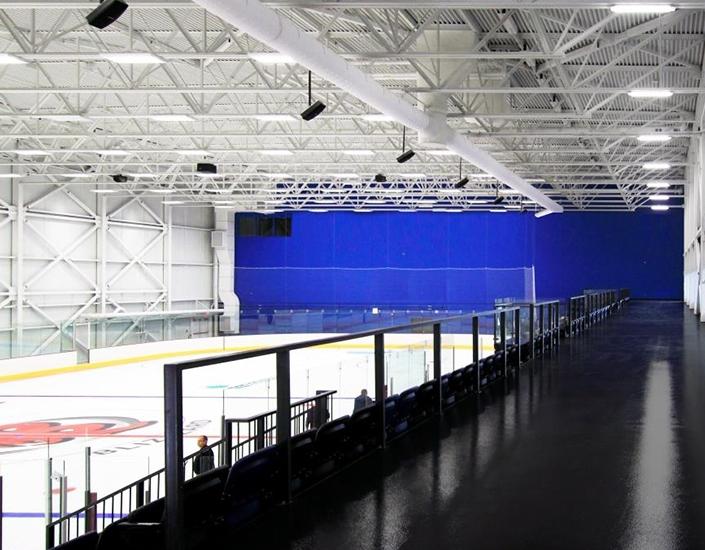 Plans et devis du centre abritant 2 patinoires et un centre aquatique