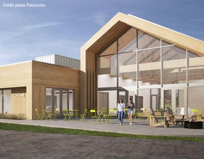 Conception électromécanique, simulation énergétique et surveillance de chantier pour le pavillon construit au cœur d'un nouvel écoquartier